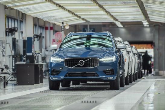 Volvo Cars i Chengdu drivs med 100 procent förnybar el