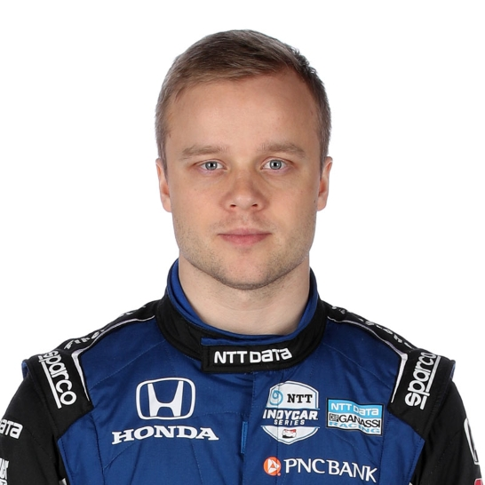 Felix tvåa - tävlade virtuellt i Indycar