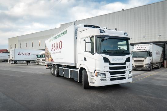 Norsk jätteorder till Scania