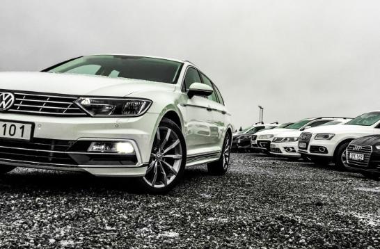 Försäljning av begagnade bilar minskade i mars